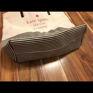 kate spade Bags - Kate Spade Live Colorfully Striped Canvas Tote
